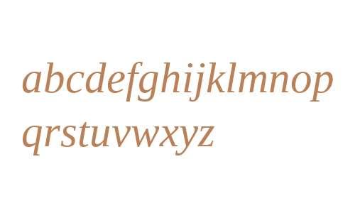 Liberation Serif Italic V2