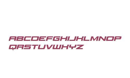 Classic Cobra Extra-Condensed Italic