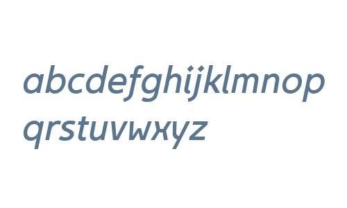 Egon Sans W01 Italic