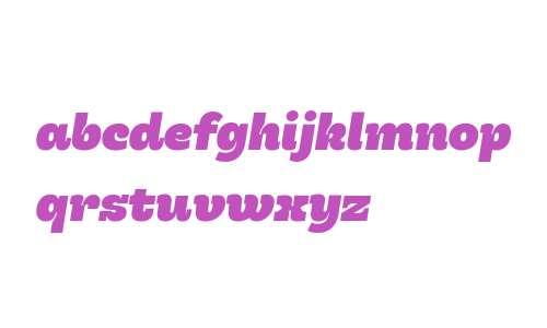 Hernandez Niu W00 Heavy Italic