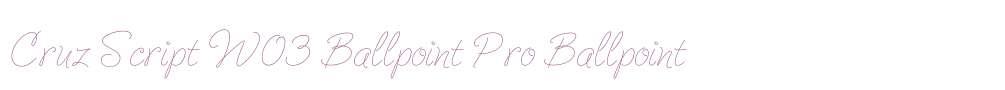 Cruz Script W03 Ballpoint Pro