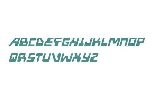 Xped Expanded Italic