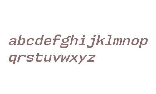 NK57MonospaceSb-Italic