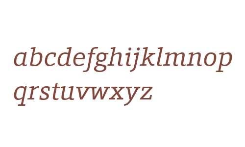 Foro W03 Italic