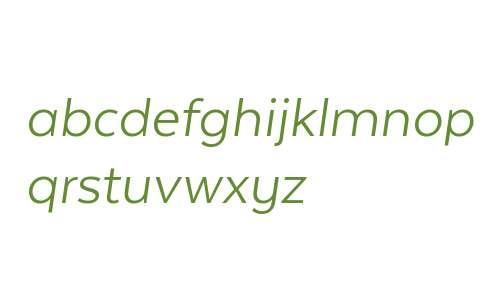 Texta W00 Book Italic