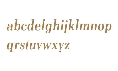 Pergamon W10 Italic