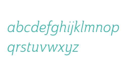 Ainslie W01 Cond Book Italic V1