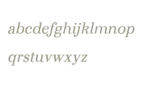 Otama Text W00 Italic