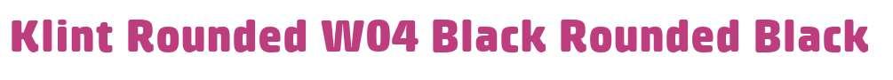 Klint Rounded W04 Black