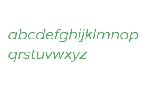 EquipExtended W03 Light Italic