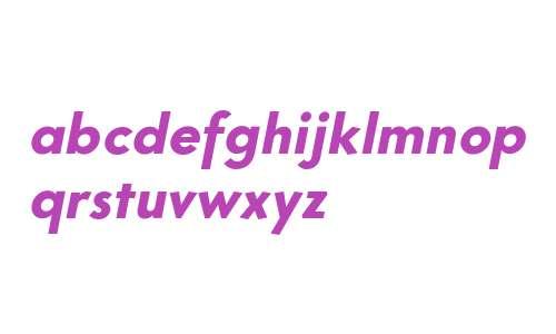 Core Sans G 75 ExtraBold Italic