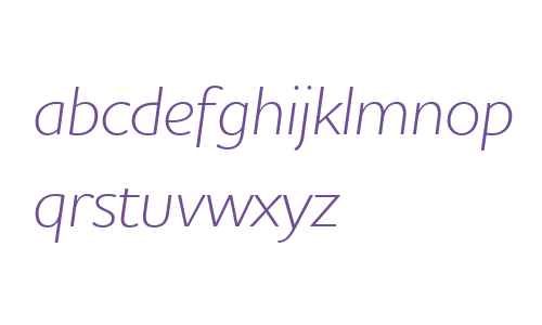 Houschka Alt W03 Light Italic