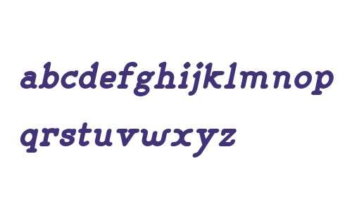 LILIMING W00 Bold Italic