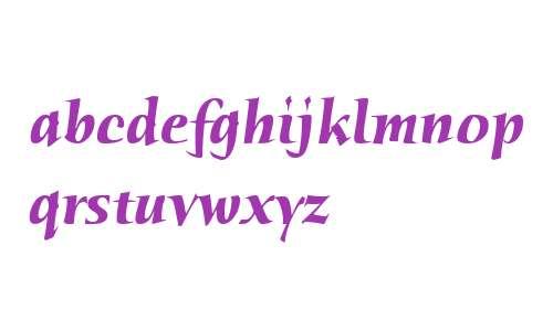 Humana Serif ITC W04 Bold It