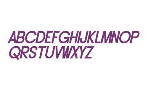 SF Buttacup Lettering Bold Oblique V2 V1