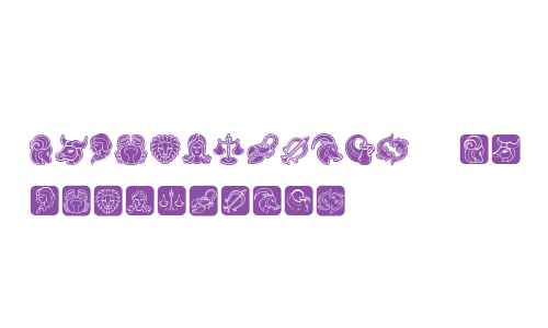 Zodiac Signs Regular