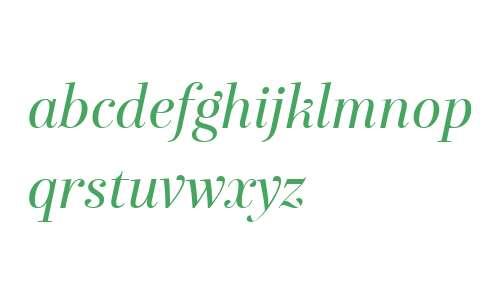 Exquise FY W04 Italic