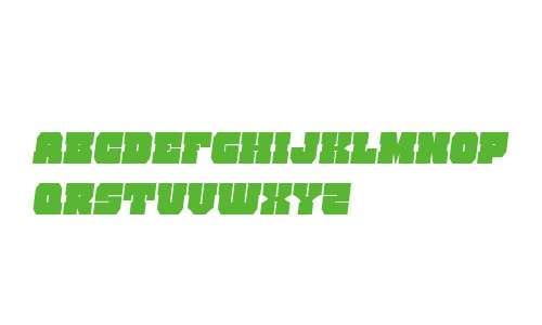 Kittrick Condensed Semi-Italic