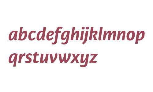 Karmina Sans W02 Bold Italic