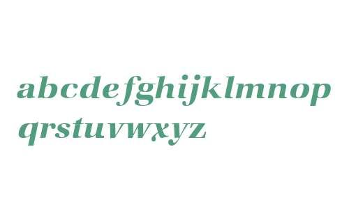 ITC Zapf Book W02 Demi Italic