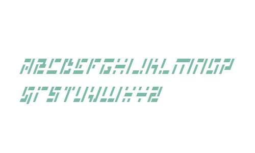 Missile Man Italic Cond