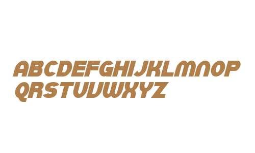 SF Juggernaut Condensed Bold Italic V2 V2