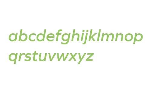 Graphie W03 SemiBold Italic