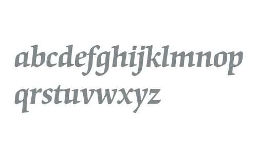 Origami W01 Semi Bold Italic