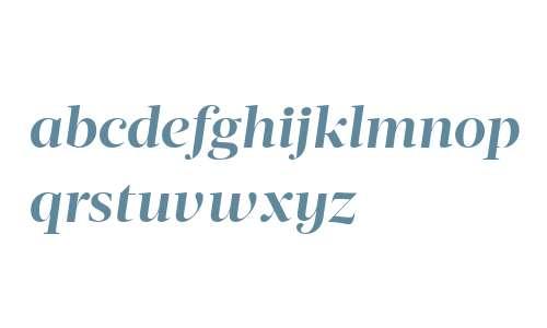 Acta Display W04 Bold Italic