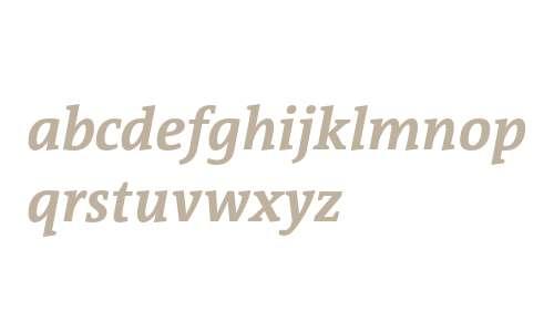 TheAntiquaSun Bold Italic