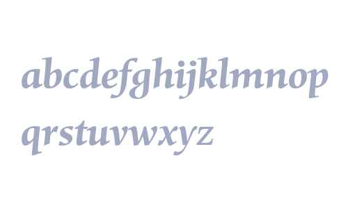 Mentor W04 Bold Italic