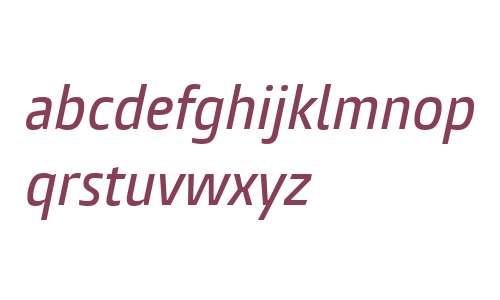 Burlingame W04 Cn Medium Italic