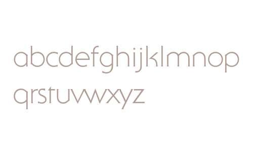 ITC Serif Gothic Std Light