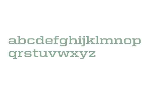 United Serif SemiExt Bold