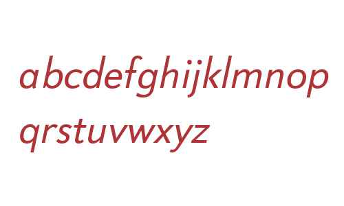 Boutros Sans W90 Italic