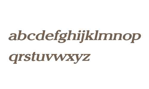 Chelsey Wide Bold Italic