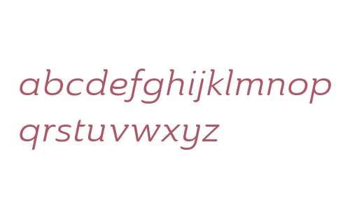 Ainslie W01 Ext Regular Italic V2