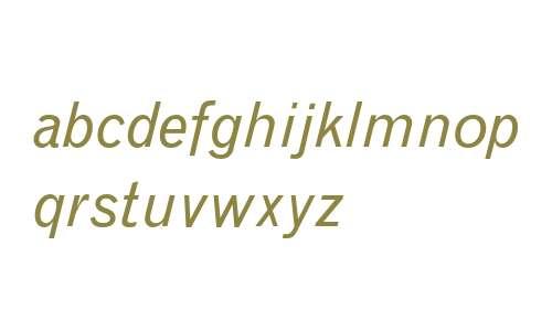 Grotesque MT Italic