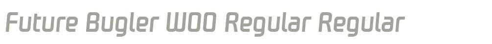 Future Bugler W00 Regular