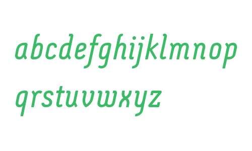 Montix LT W04 Italic