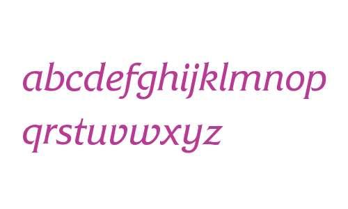 FrizQuadrataITC W08 Italic