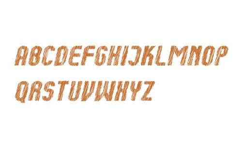 Kumba Sketch Bold Italic