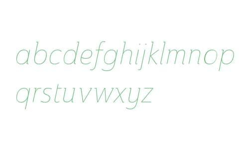 Ainslie W01 Cond Thin Italic V2