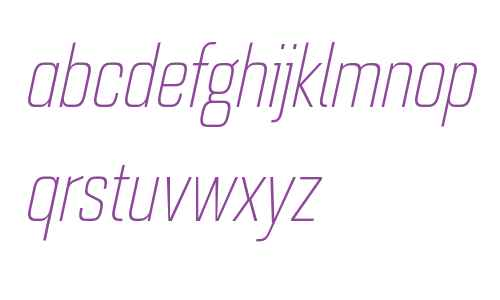 Quarca W01 Cond Light Italic