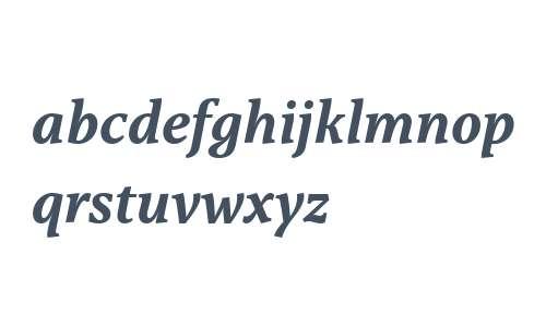 Capitolina W03 Bold Italic