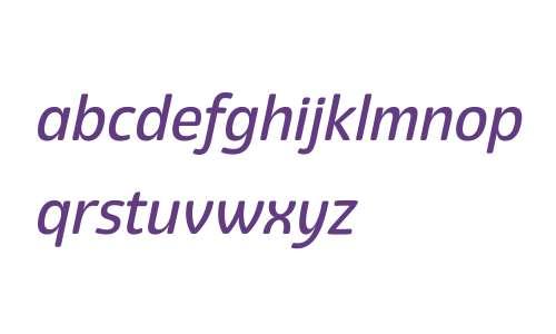 Eigerdals W00 Medium Italic