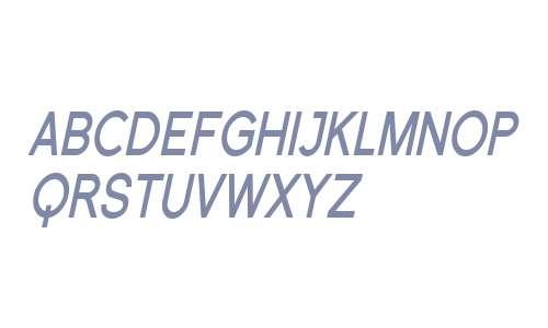 SF Florencesans SC Cond Bold Italic