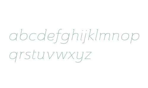 Ainslie W01 Ext Thin Italic V1