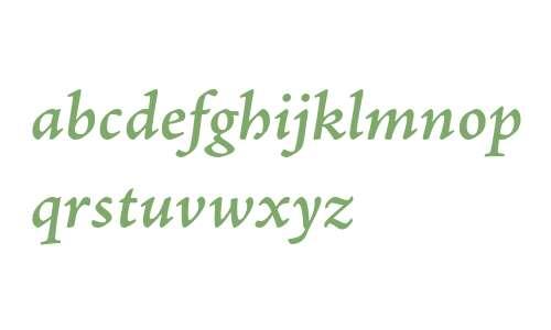Adobe Jenson Pro Semibold Italic Caption