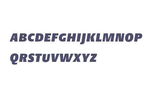 DTLArgoT Caps Heavy Italic